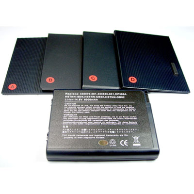 Replacement HP PAVILION ZV5000 battery