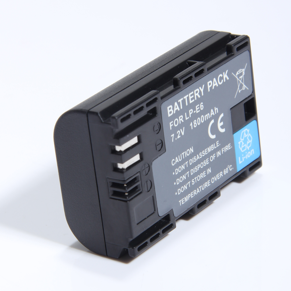 New LP-E6 Battery for Canon EOS 5D MKII & Canon EOS 60D