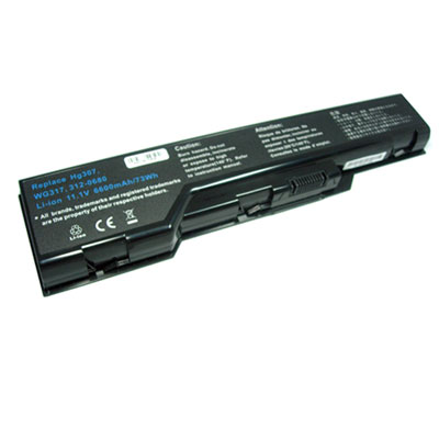 Dell xps m1730 Battery 11.1V 6600mAh
